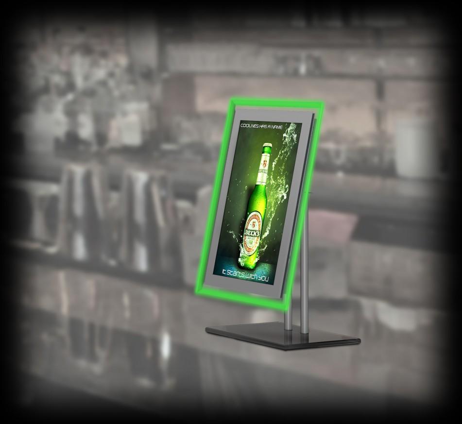 Рекламен дисплей с LCD екран