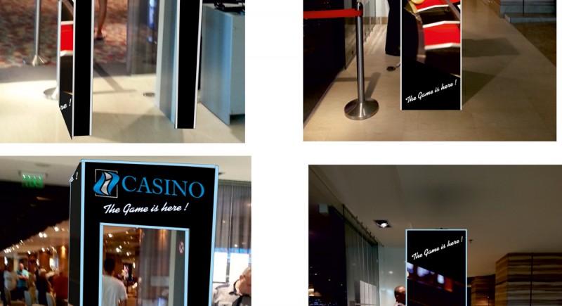 Светещ Панел за вход на казино