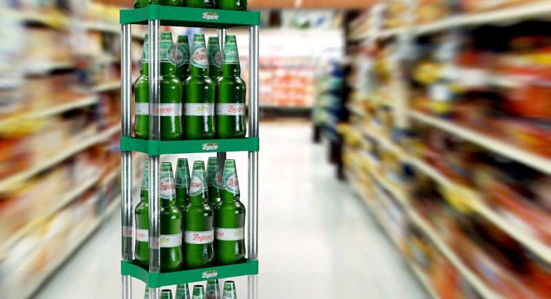Стелаж за бира
