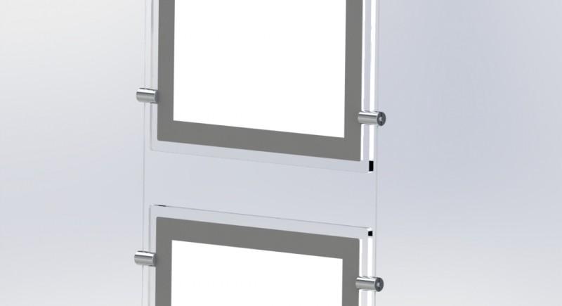 LED дисплей за витрина